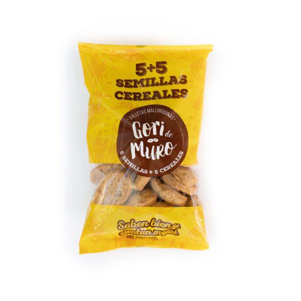 Galletas Mallorquinas de aceite - 5 semillas + 5 cereales